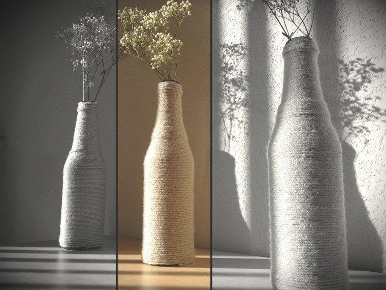 botellas cristal presiosas elegantes ideas