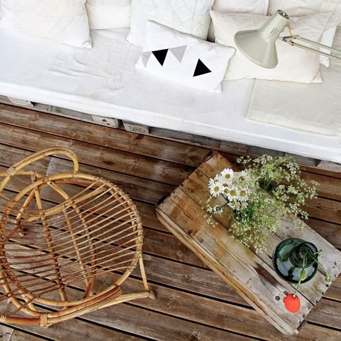 caja madera pallet decoración