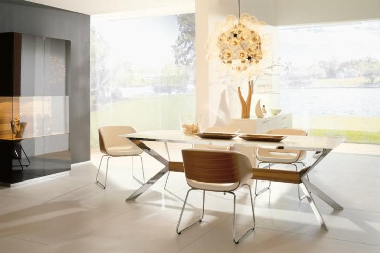 calido modernos ventanas metales sillas