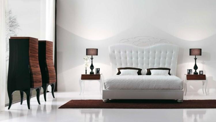 cama cabecero capitone color blanco