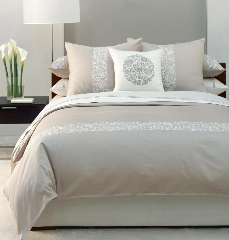 cama grande ropa cama clara