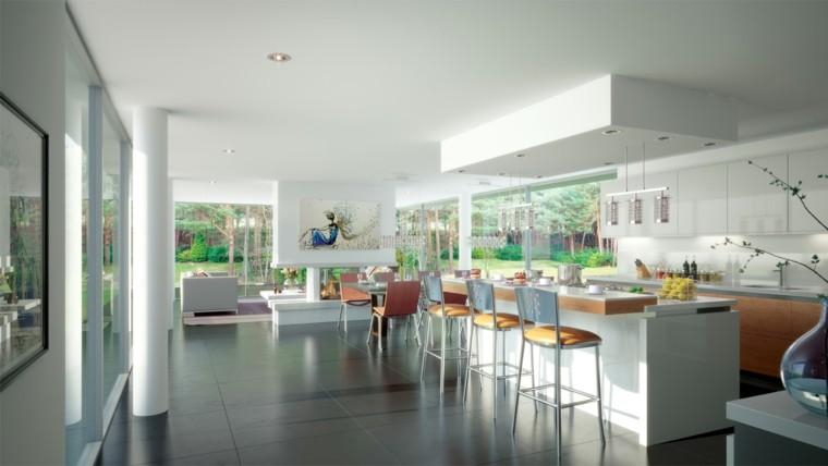 casa amplia espacio abireto cocina preciosa ideas