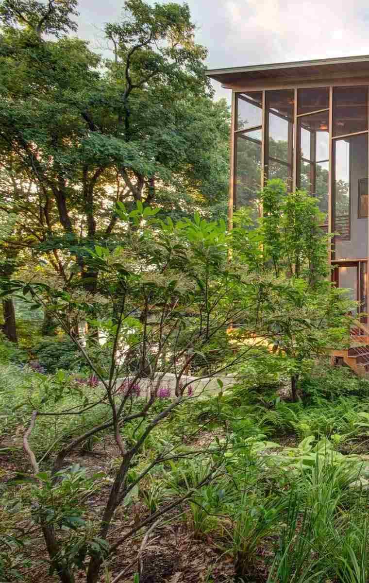 casa diseño moderno porche