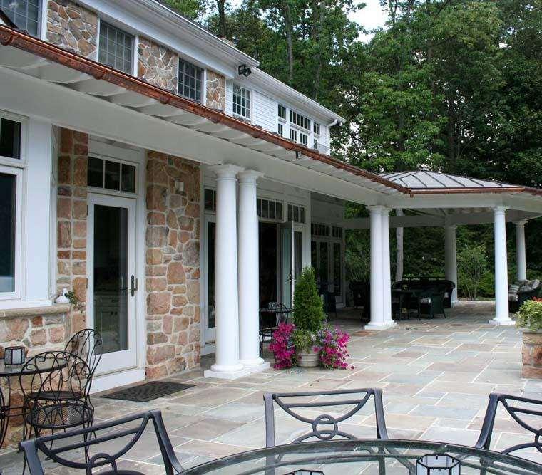 Porches para terrazas modelos de espacios semicubiertos for Porche diseno