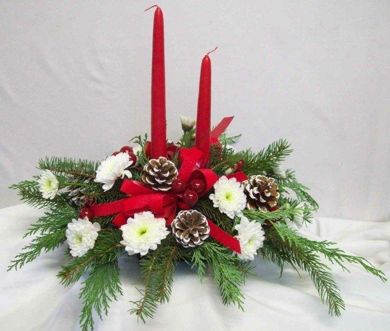 La navidad est cerca han decorado ya su hogar - Centros navidad caseros ...