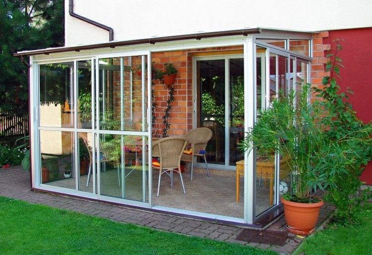 Cerrar terrazas ideas para acristalar balcones a la moda - Como cerrar una terraza barato ...