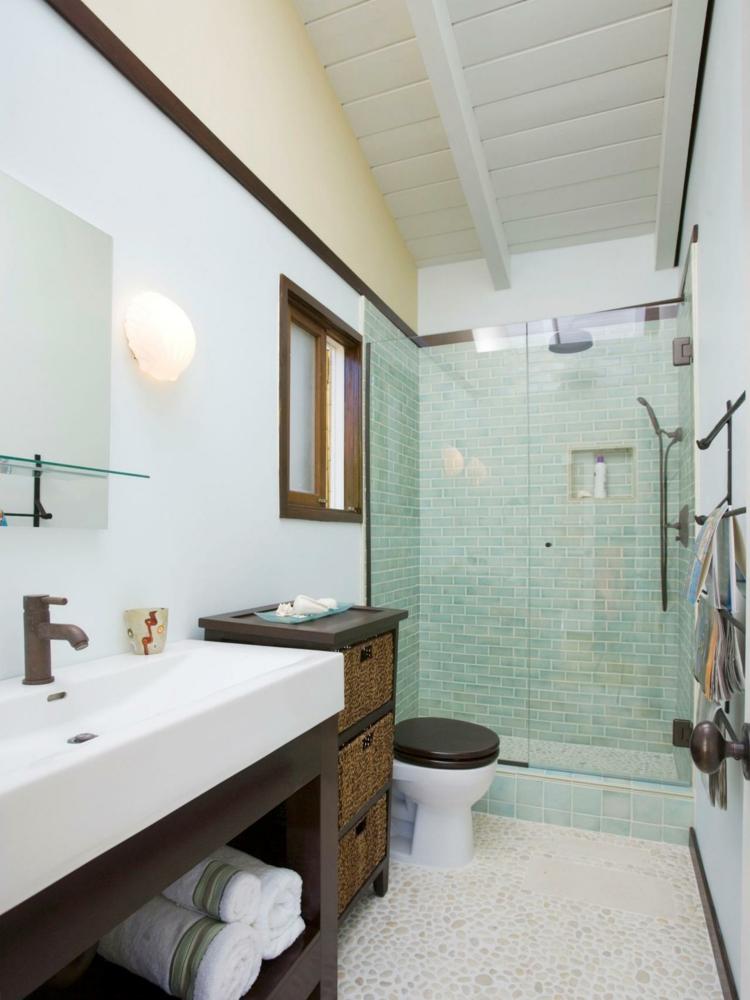 Baño Pequeno Alargado:Ideas de como decorar un baño pequeño en 50 ideas