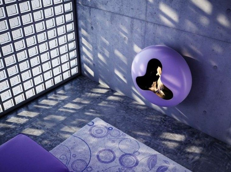 chimeneas-de-diseno-Andrea-Crosetta-purpura