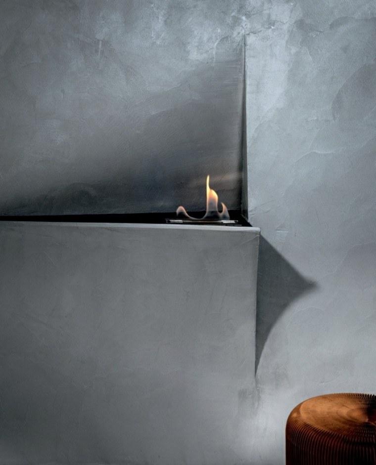 chimeneas de diseño moderno Talocci Design ideas
