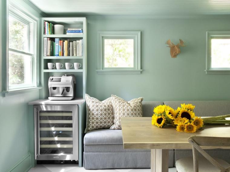 claro colores paredes decoradas ideas
