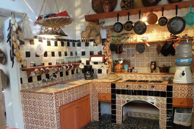 cocina diseño etnico rustico