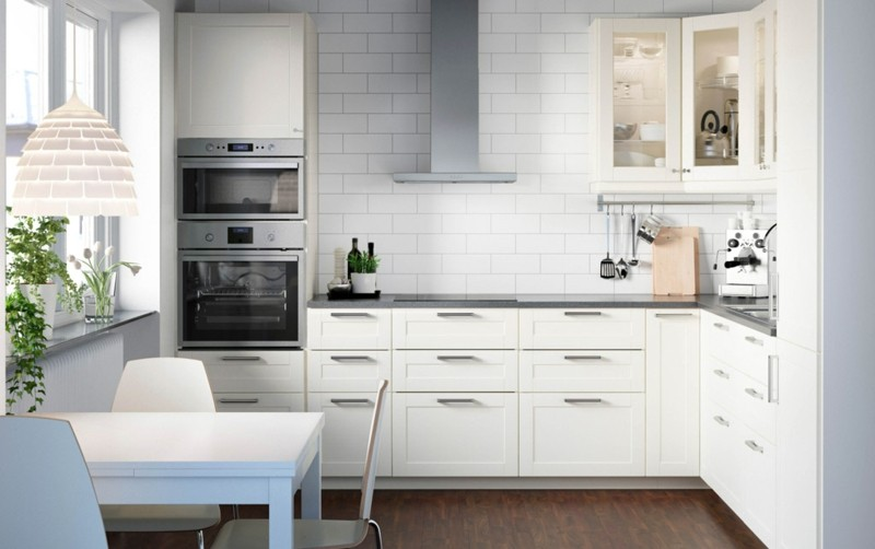 cocina blanca diseño moderno