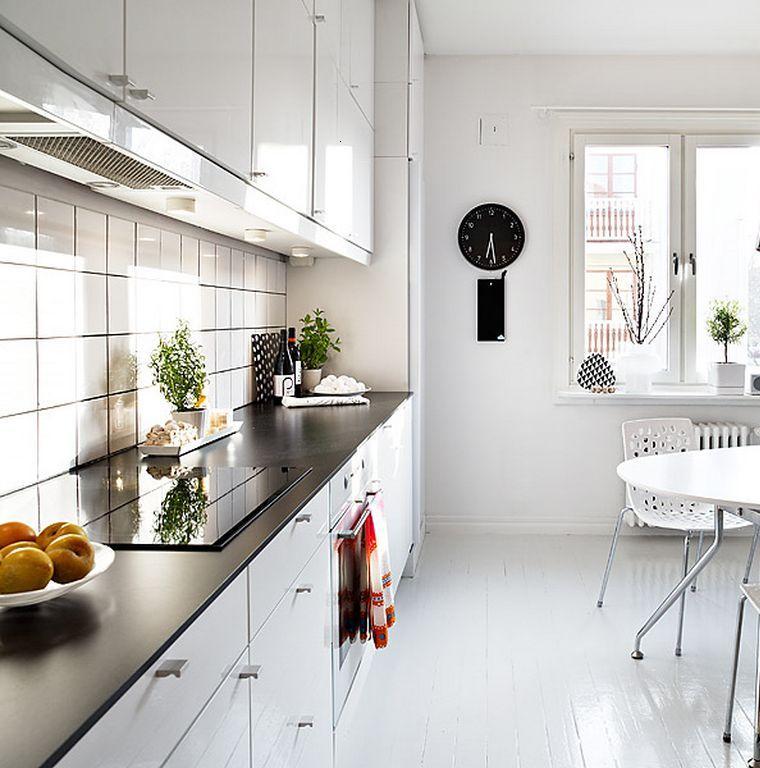 cocinas modernas estilo nórdico