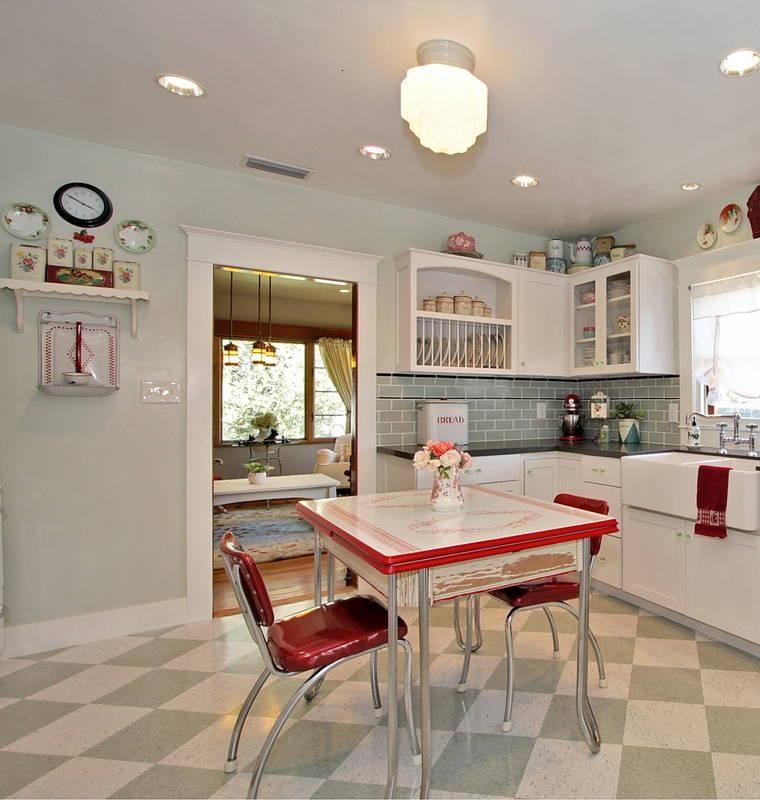 Decoraci n de cocinas chicas ideas para ahorrar espacio - Decoraciones cocinas pequenas ...