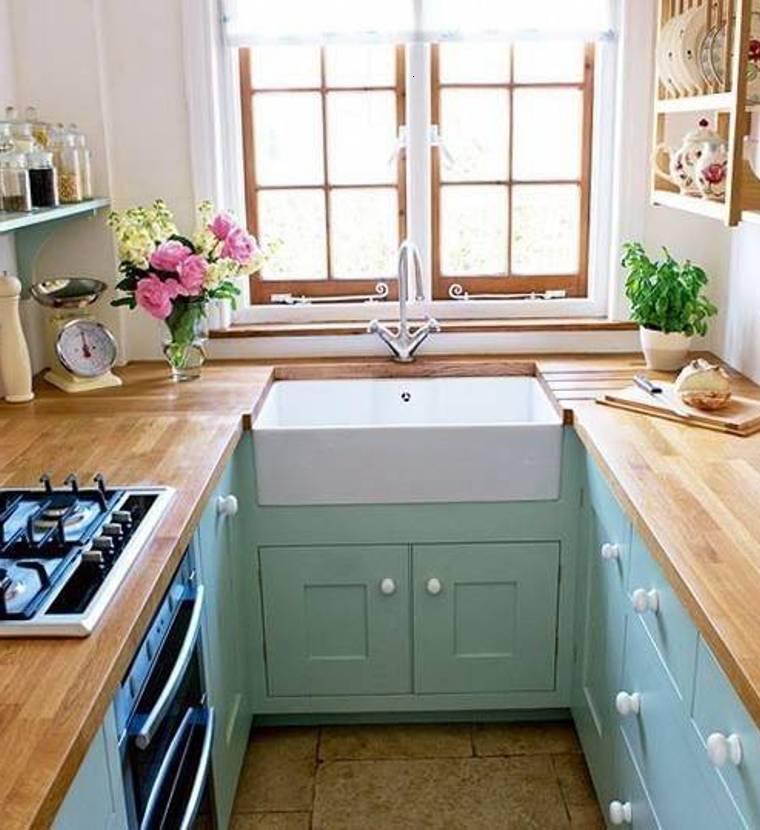 cocina estilo retro muebles