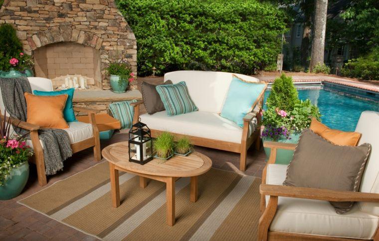 Cojines para sillones de jardin excellent conjunto jardn for Almohadones para sillones jardin