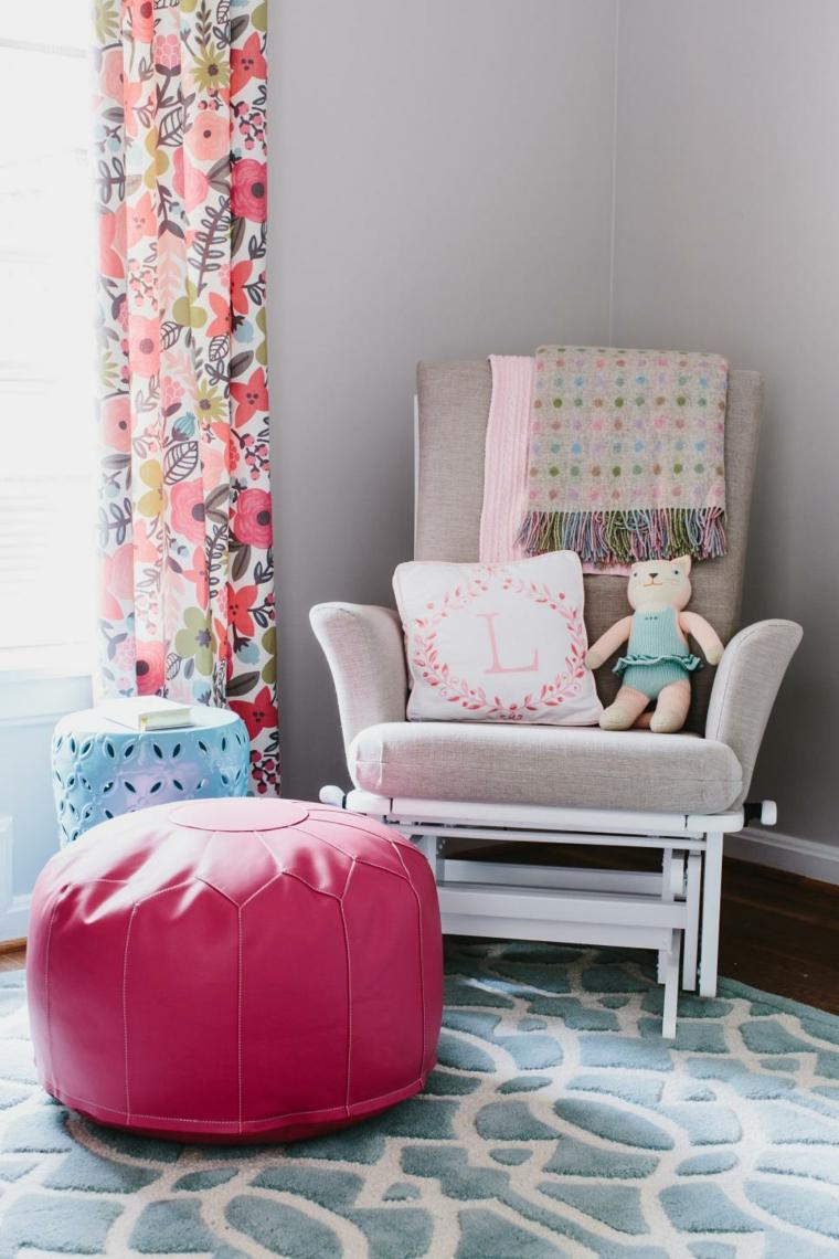 cojines rosa cuadros ideas osos confortables