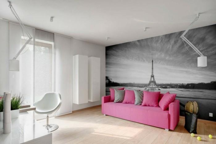 color rosa ideas detalles blanco lamparas