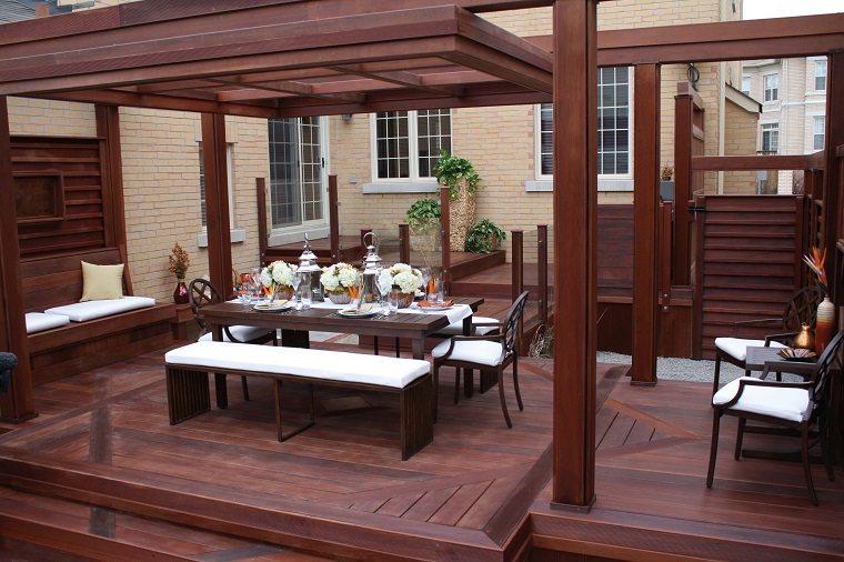 Decorar terrazas urbanas para el relax y el confort for Comedor para terraza