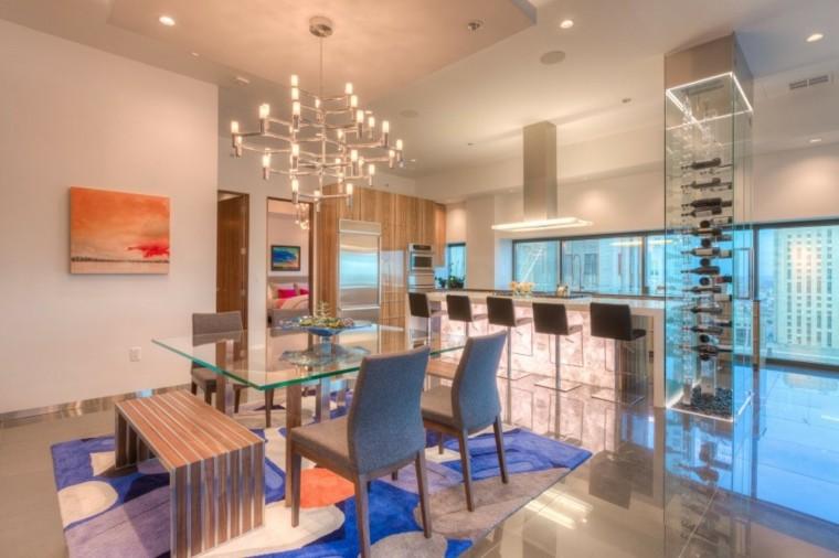 Comedores de dise o inspirador elegante y moderno for Comedores modernos con banca