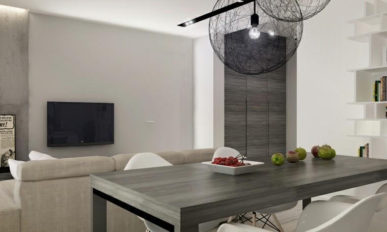 Comedores de dise o inspirador elegante y moderno for Comedor gris moderno