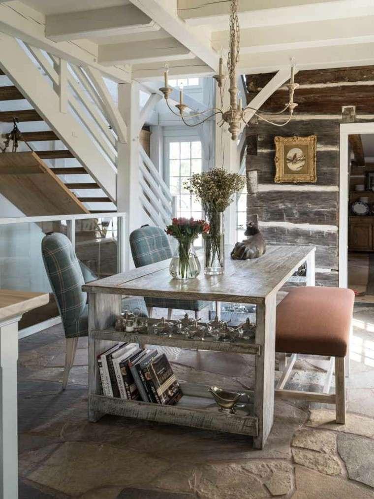 Ideas decoracion moderna para el sal n y el comedor for Decoracion rustica moderna