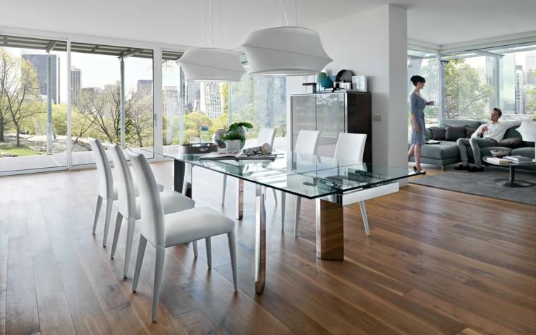 mesas y sillas comedor de diseño