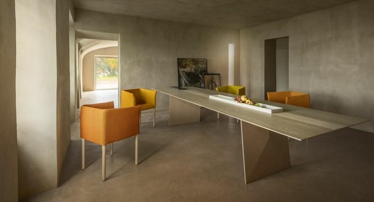 comedores de diseño mesa madera sillas preciosas ideas
