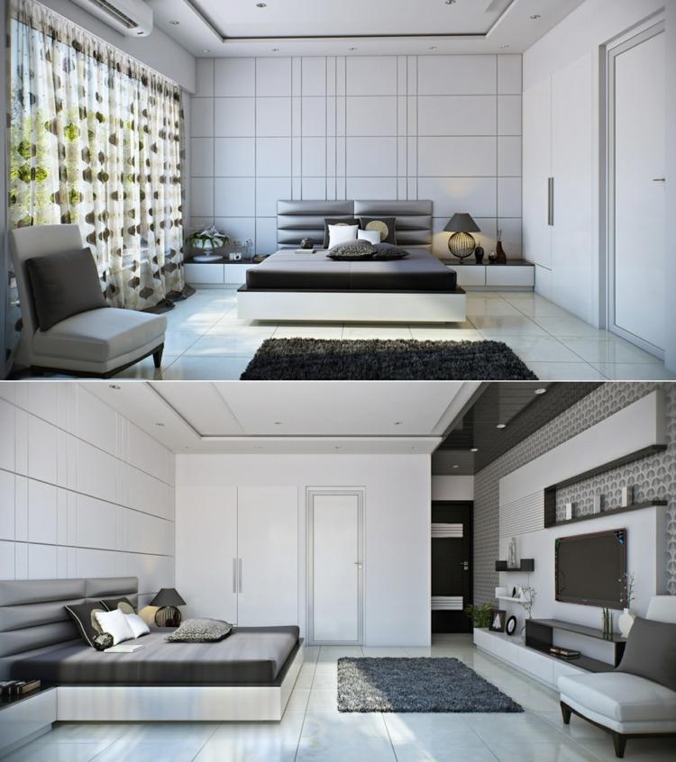 como decorar tu habitacion marrones cortinas flores