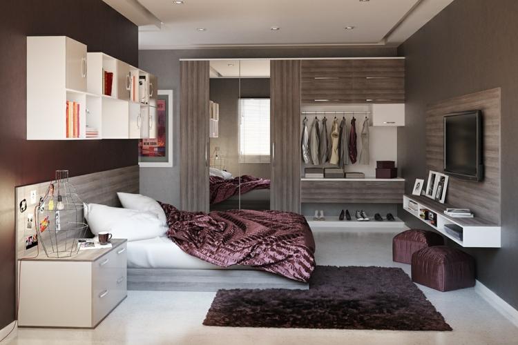como decorar tu habitacion modernidad alfombra