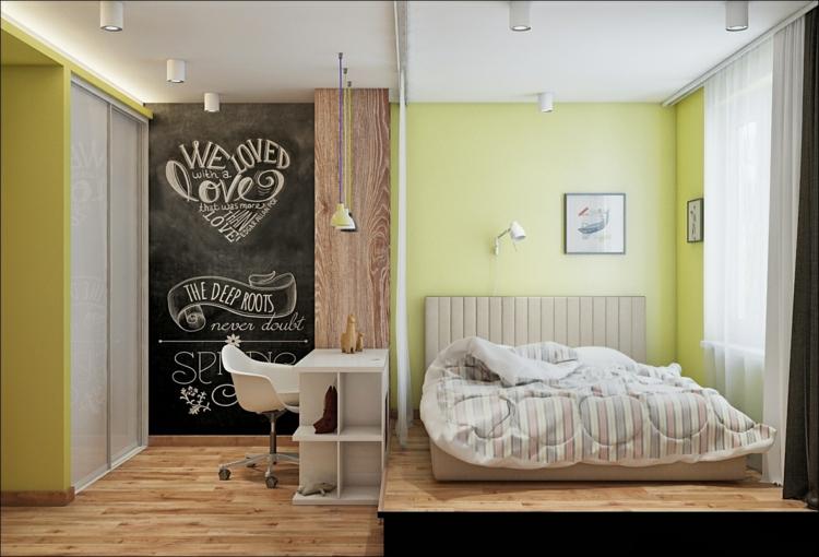 estilos habitacion pizarra colores