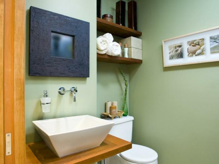 como decorar un baño pequeño y sencillo fresco cuadros