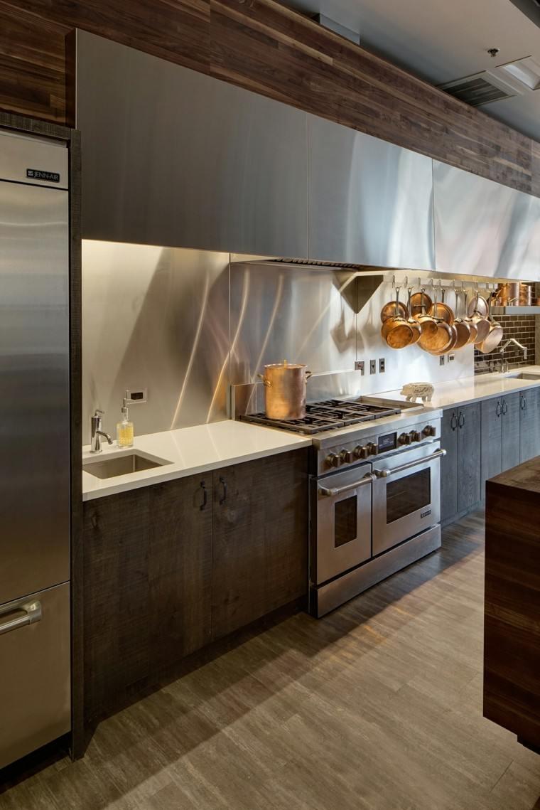 como decorar una cocina diseno industrial ideas