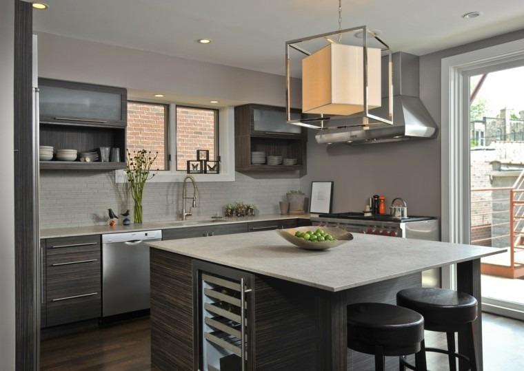 Decoracin de cocinas modernas finest ideas para decorar for Adornos para cocina moderna