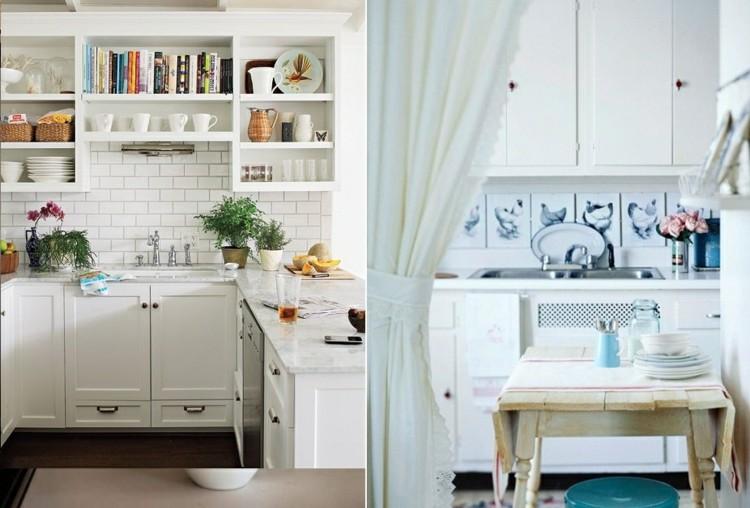 como decorar una cocina fresca maderas plantas