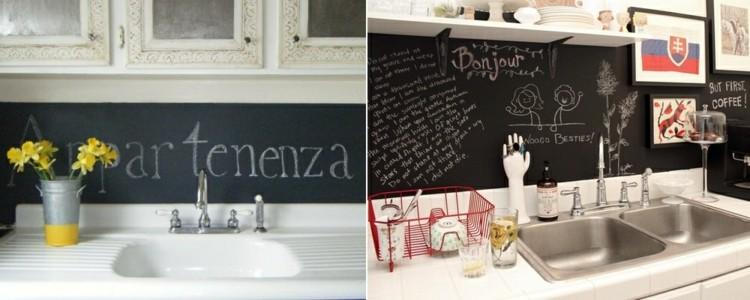 como decorar una cocina fresca letras