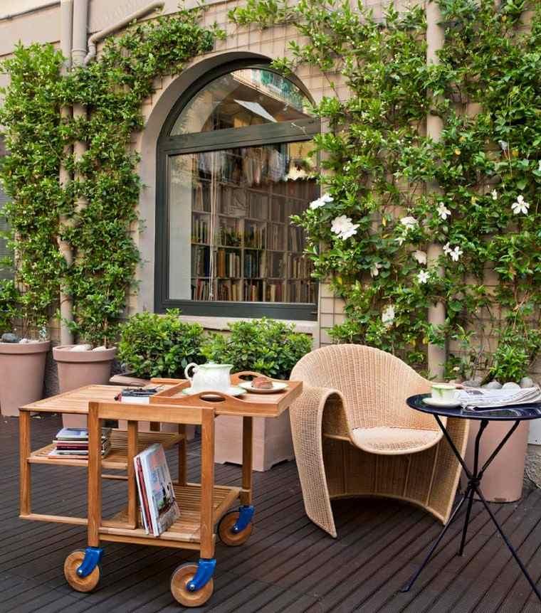 Como decorar una terraza con muebles originales Como disenar una terraza