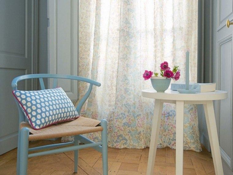 cortinas de salon opciones diseno femenino bonito ideas