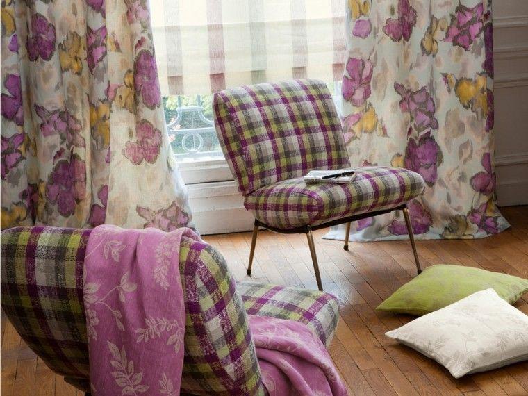 Cortinas de salon 39 opciones elegantes y sofisticadas for Cortinas salon originales