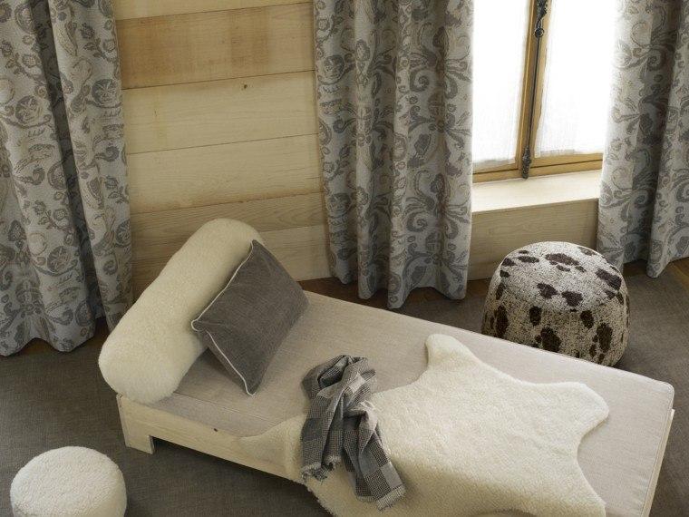cortinas salon opciones diseno color gris ideas