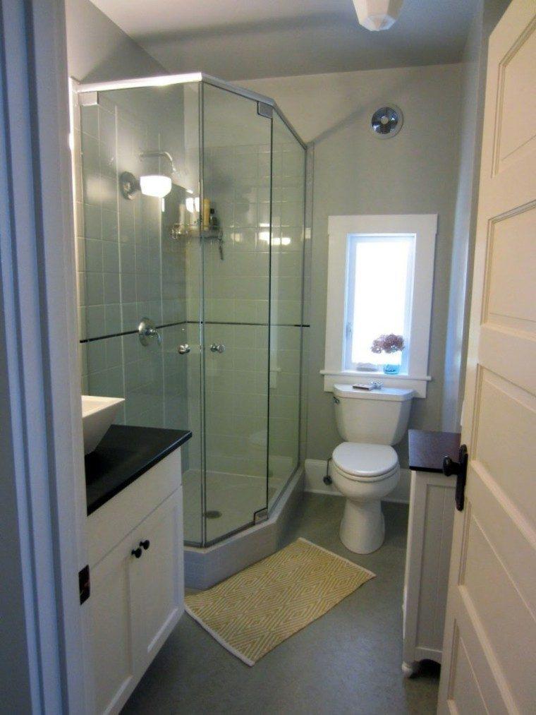 cuarto bao moderno cabina ducha