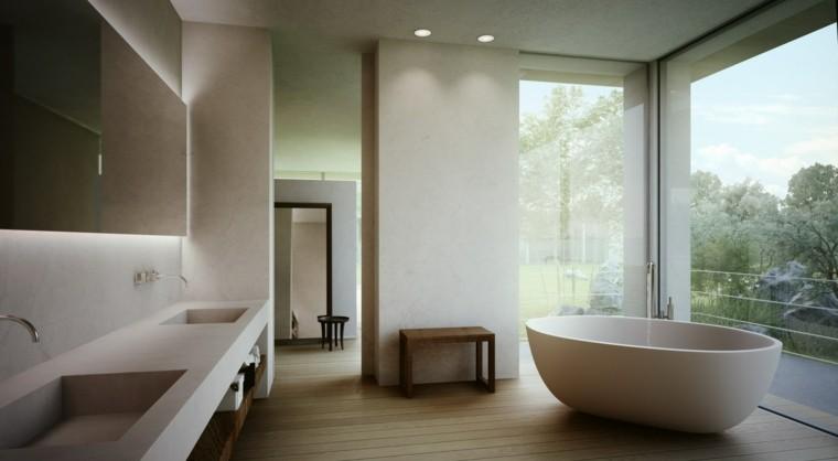 cuarto baño lujoso moderno