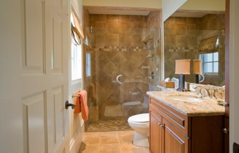 Mueble Baño Madera Gris Conjunto de mueble de baño Salgar Hermes
