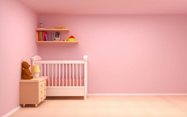 cuartos de bebe color rosa