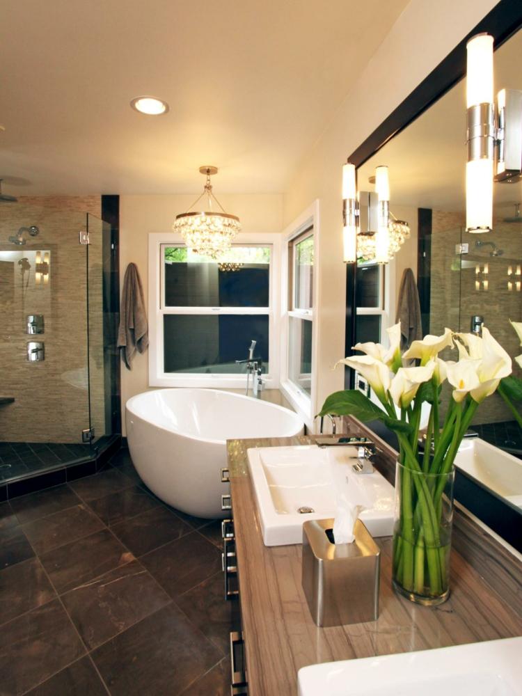 cuartos de baño modernos plantas estilos tallos