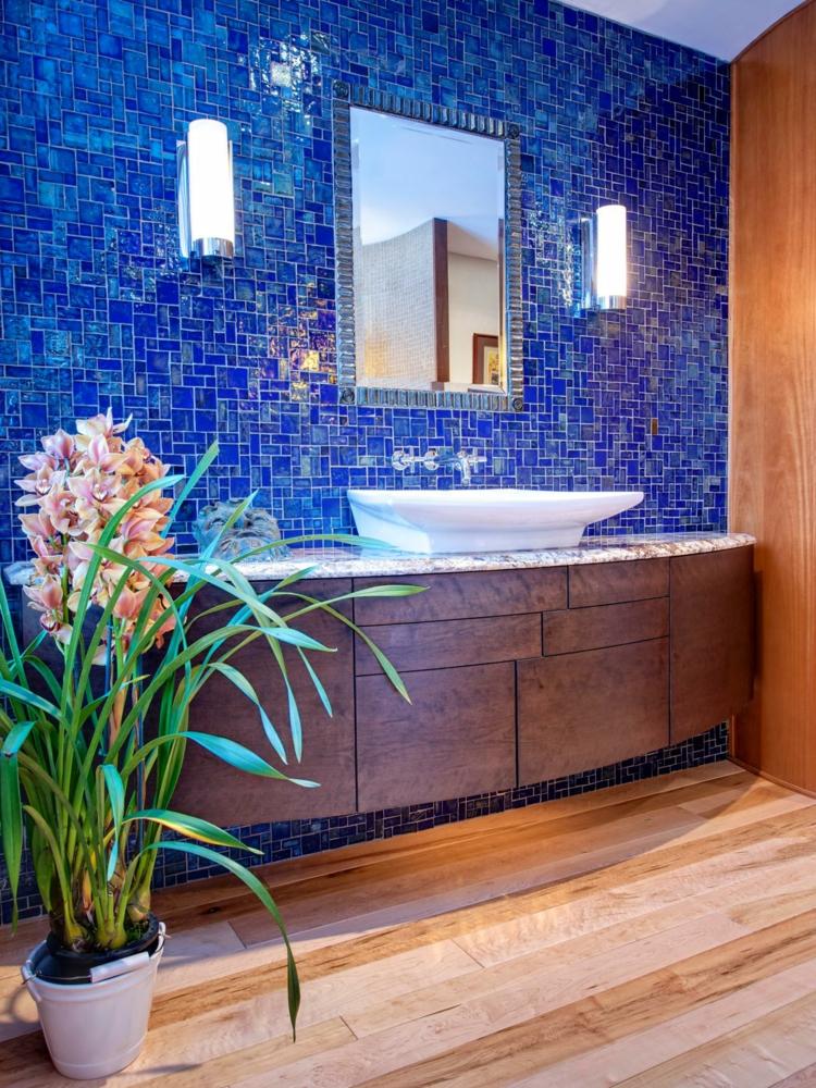 cuartos de baño modernos soluciones maderas interiores