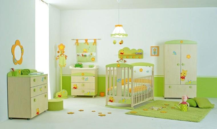 cuartos de bebe color verde