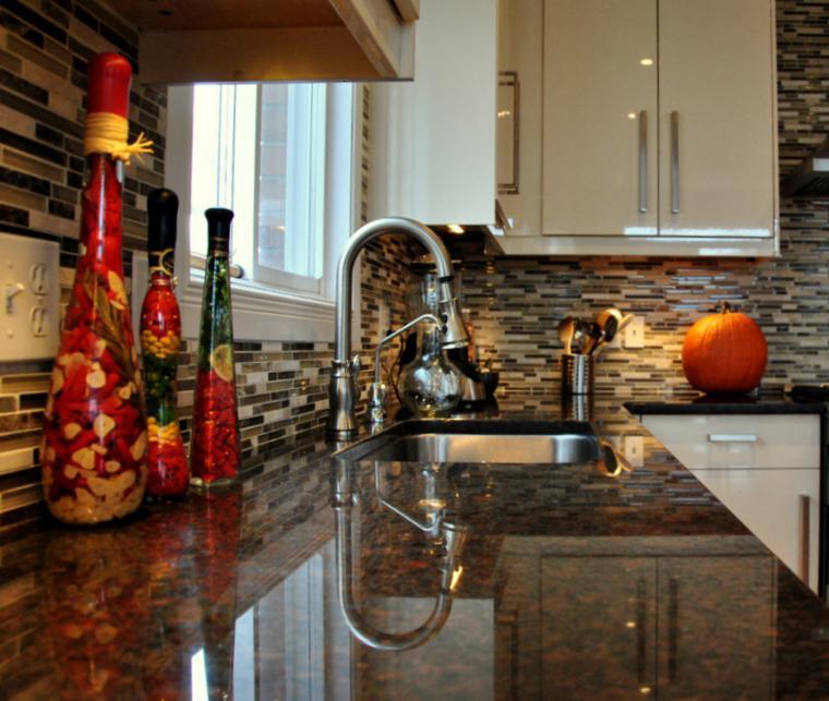 decoración cocina objetos colores