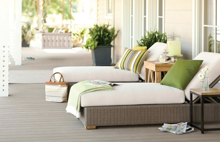 Telas para terrazas 50 acolchados y tapizados para exterior - Telas para tapizados de sofas ...