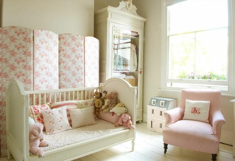 decoración dormitorio beige rosa